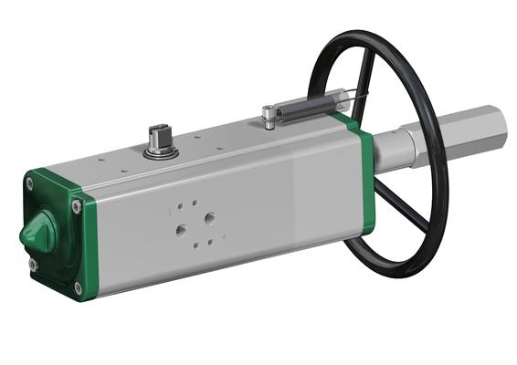Manual Override Actuator - ACTUATECH - ITALY
